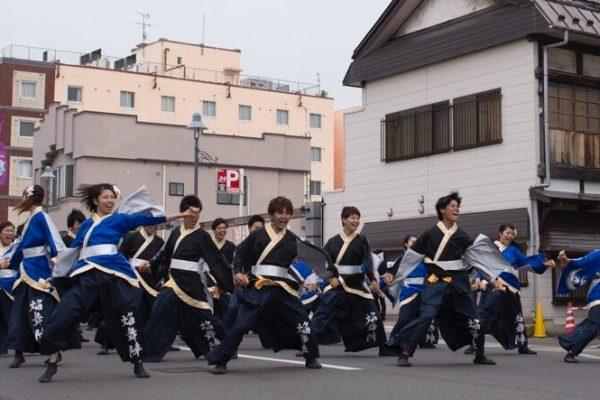 弘前で演舞!!「よさこい津軽」開催