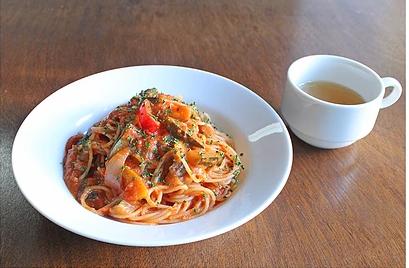 弘前PastaYaのカポナータのトマトソースです。