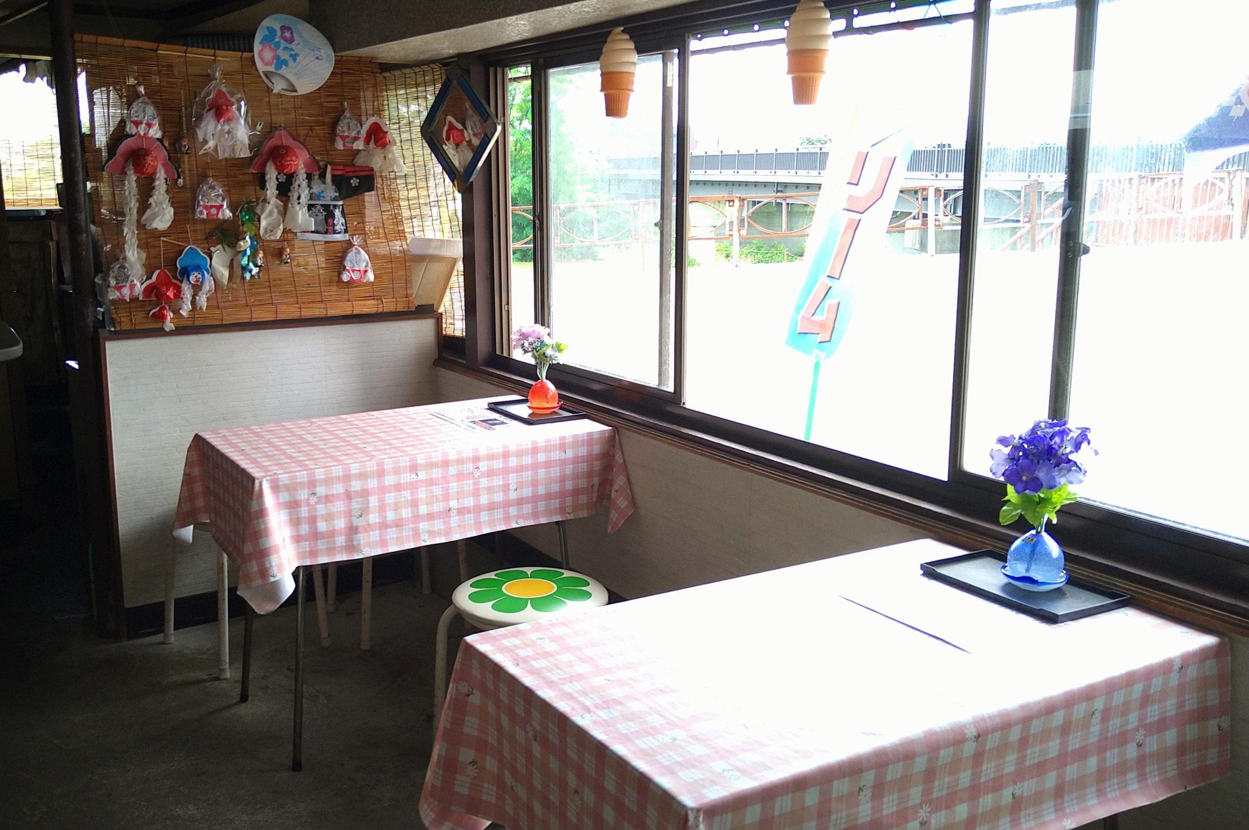 小山内冷菓店 イートイン